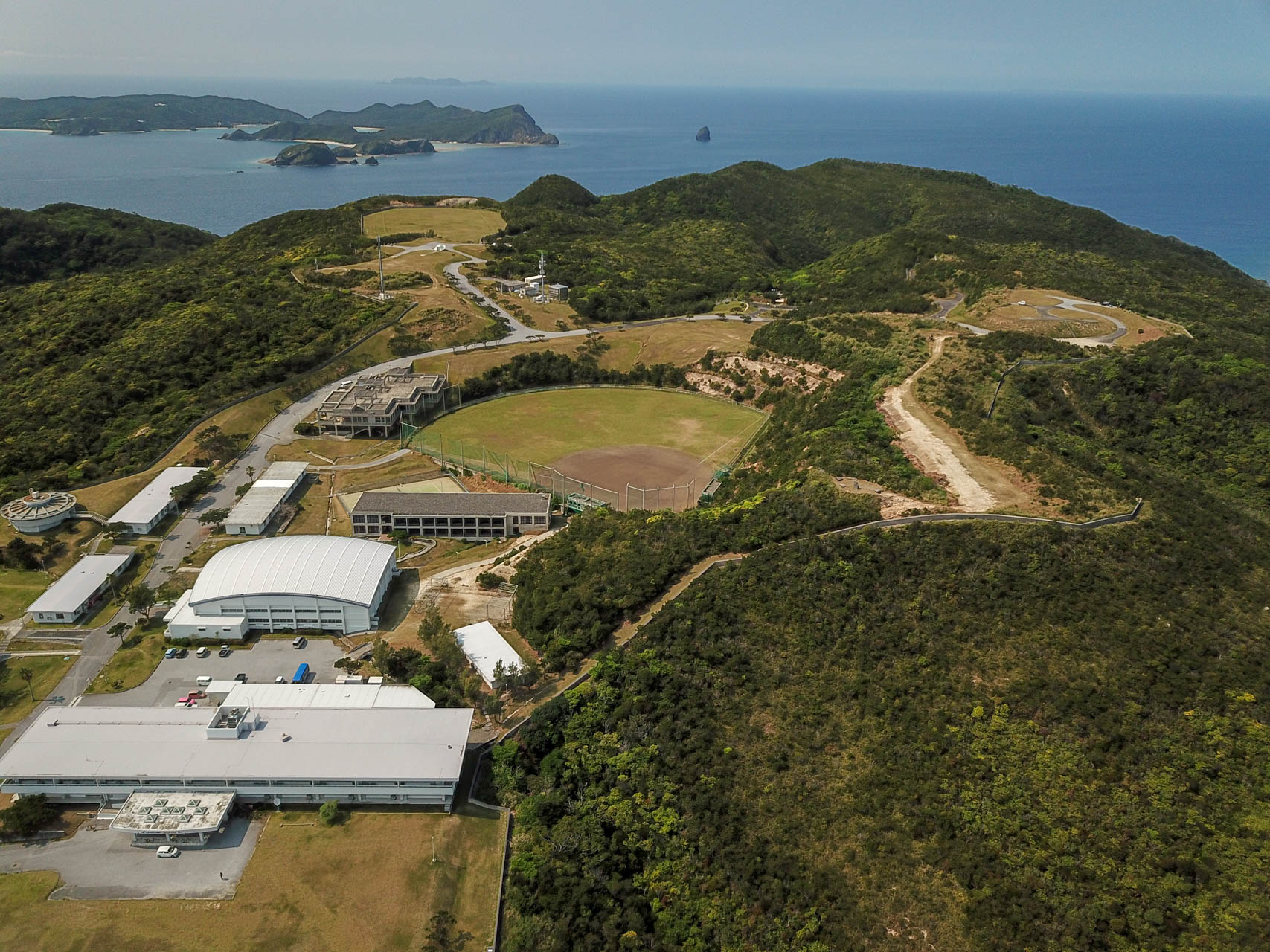 国立沖縄青少年交流の家 グラウンド