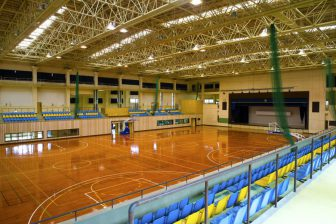 Ginozason General Gymnasium (inside of Ginoza General Sports Park)