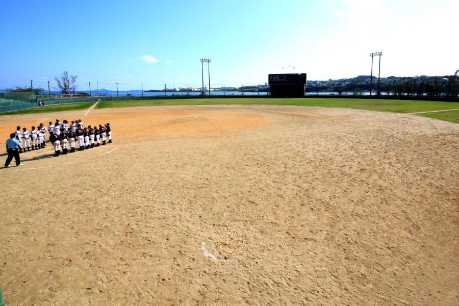 うるま市石川野球場