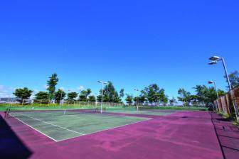 うるま市石川庭球場
