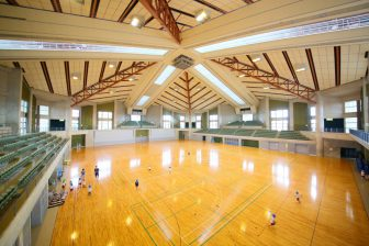 Gymnasium (inside of Okinawa Comprehensive Athletic Park)