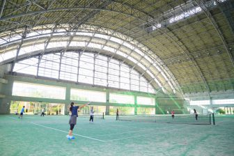 Recreation Dome ( Indoor Sports Ground at Okinawa Comprehensive Athletic Park )