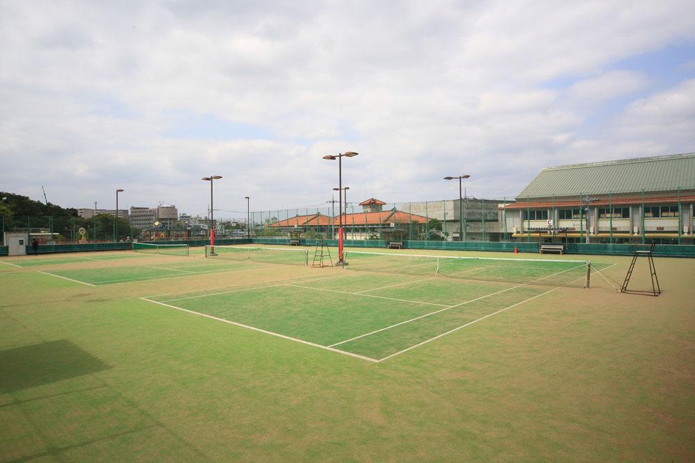 黄金森公園 テニスコート