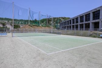 Tennis Court in National Okinawa Youth Friendship Center