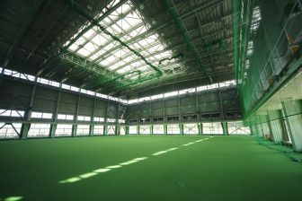 Kunigami Indoor Gymnasium in Kuina Eco & Spo Park