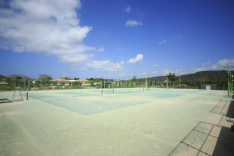 Seaside Tennis Court (inside of Kuina Eco & Spo Park)