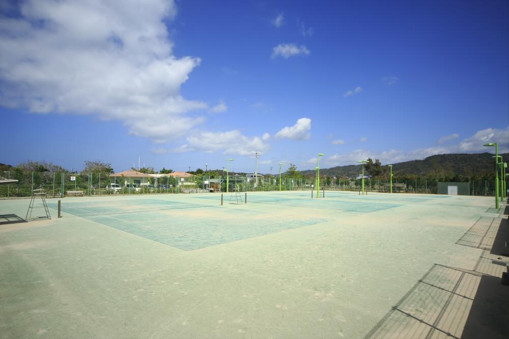 シーサイドテニスコート(くいなエコ・スポレク公園内)