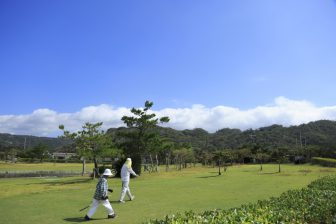 Kunigami Kaganji Park Golf Ground in Kuina Eco & Spo Park