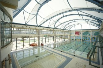 Itoman City Nishizaki Pool (inside of Nishizaki Athletic Park)