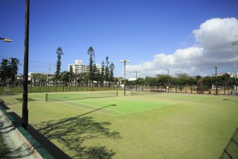 Itoman City Nishizaki Tennis Court (inside of Nishizaki Athletic Park)