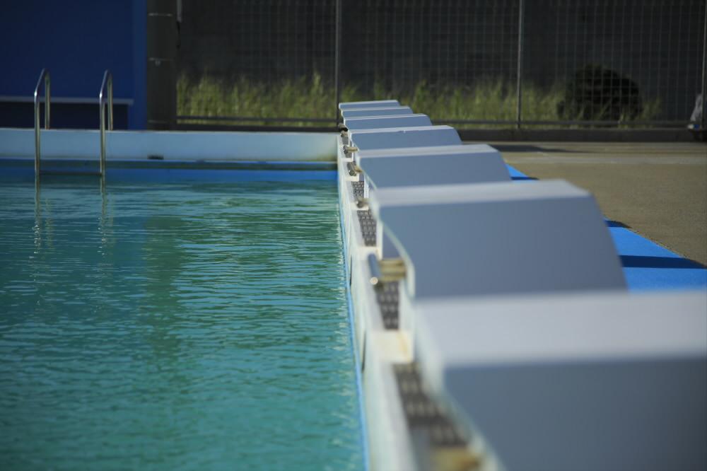 八重瀬町営プール