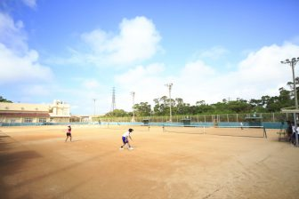 Okinawa City Tennis Court ( inside of Okinawa City KOZA Sports Park )