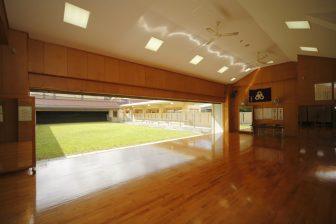 Okinawa City Archery Hall in Okinawa City KOZA Sports Park