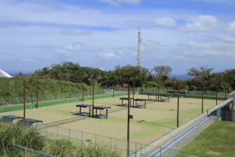 Uruma City Gushikawa Tennis Court (inside of Uruma City Gushikawa General Sports Park)