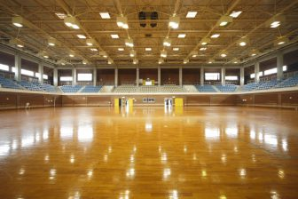 Uruma Gushikawa General Gymnasium (inside of Uruma Gushikawa Athletic Park)
