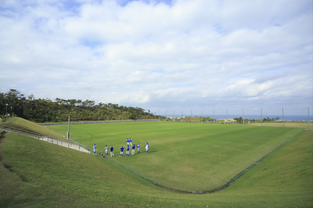サッカー場(赤間総合運動公園内)