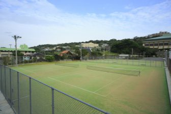 Nanjo City Tamagusuku Tennis Court