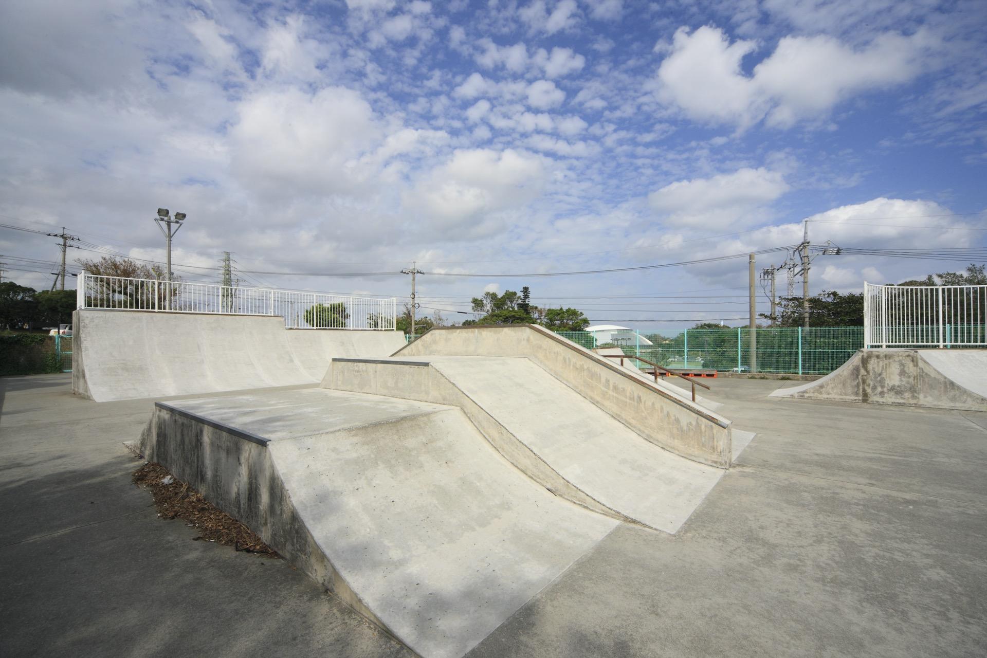スケートボードパーク(うるま市具志川運動公園内)