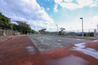 北中城村 若松公園 テニスコート