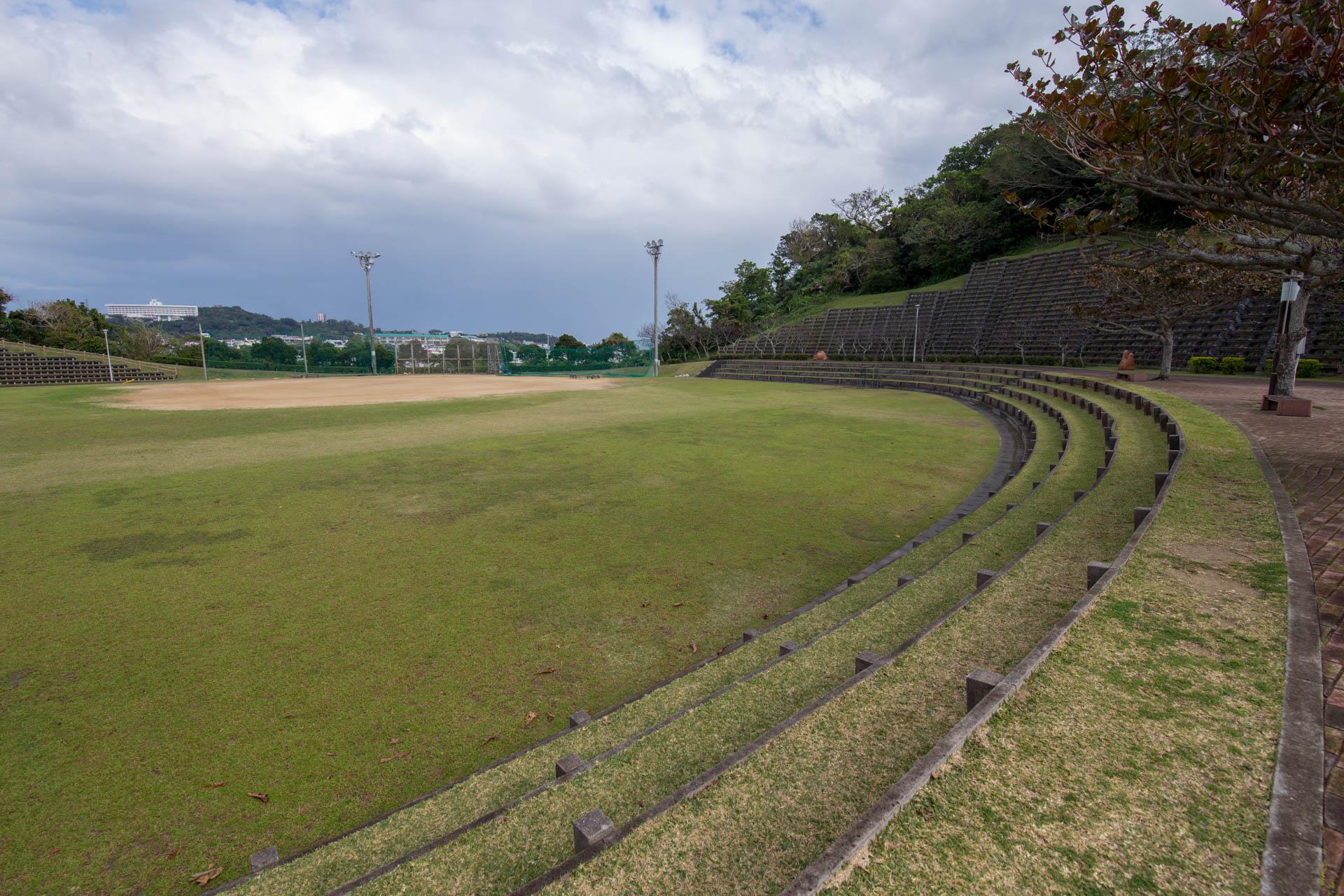 北中城村 若松公園 多目的広場