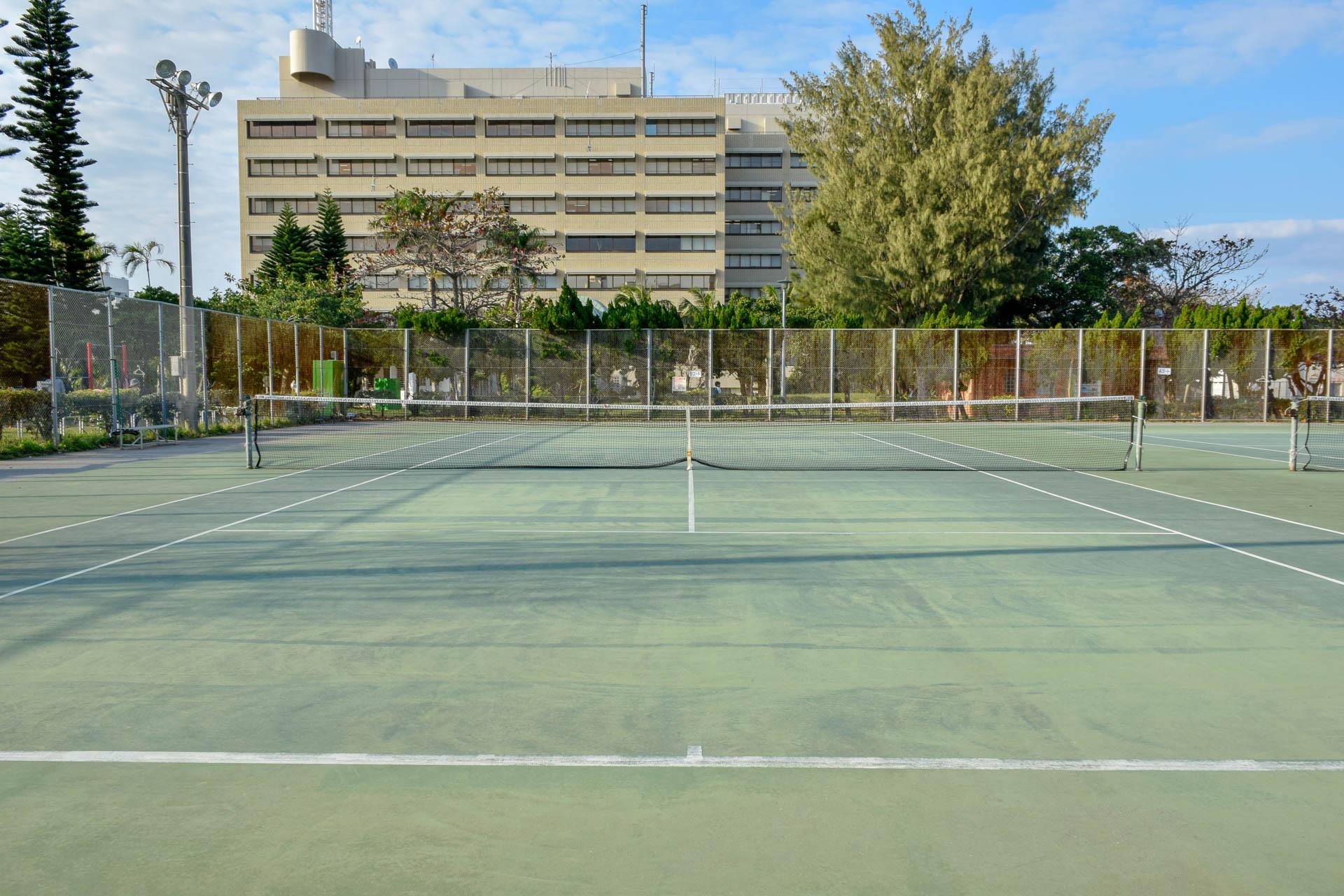 中央公園 テニスコート