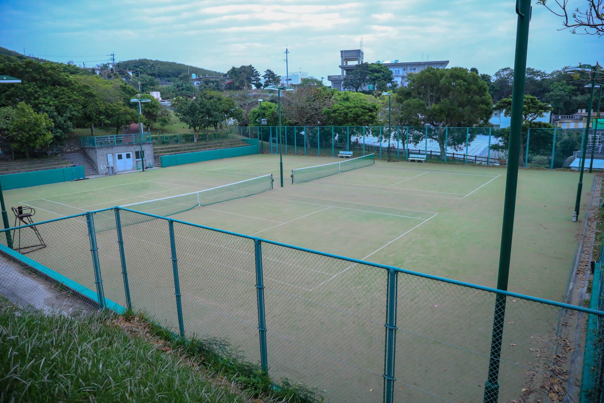 宮城公園 テニスコート