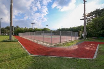 Tennis Court in Kitadaito General Sports Park