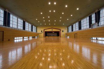 Gymnasium in Izena Village Rinkai Fureai Park
