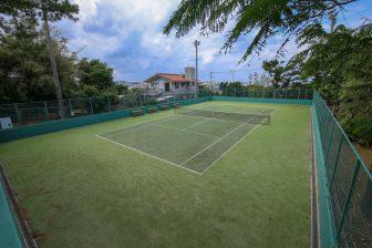 Ginowan Forest Park Tennis Court