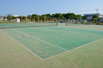 Itoman City Minato Park Tennis Court