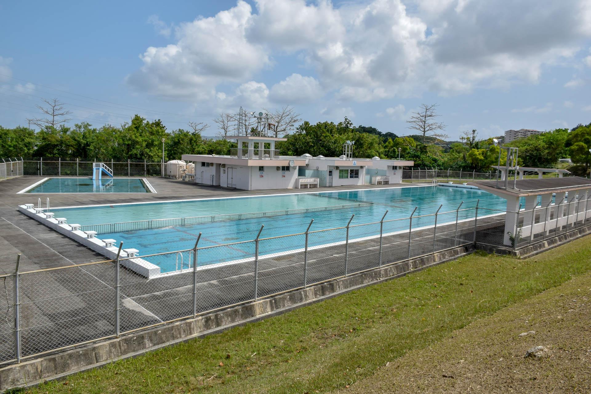 豊見城総合公園 水泳プール