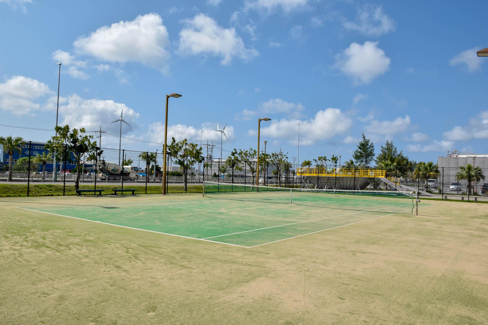 豊崎にじ公園 テニスコート