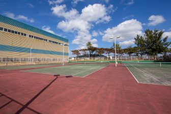 Uruma City Ishikawa Tennis Court