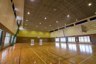 Gymnasium in Uruma City Katsuren B&G Marine Center