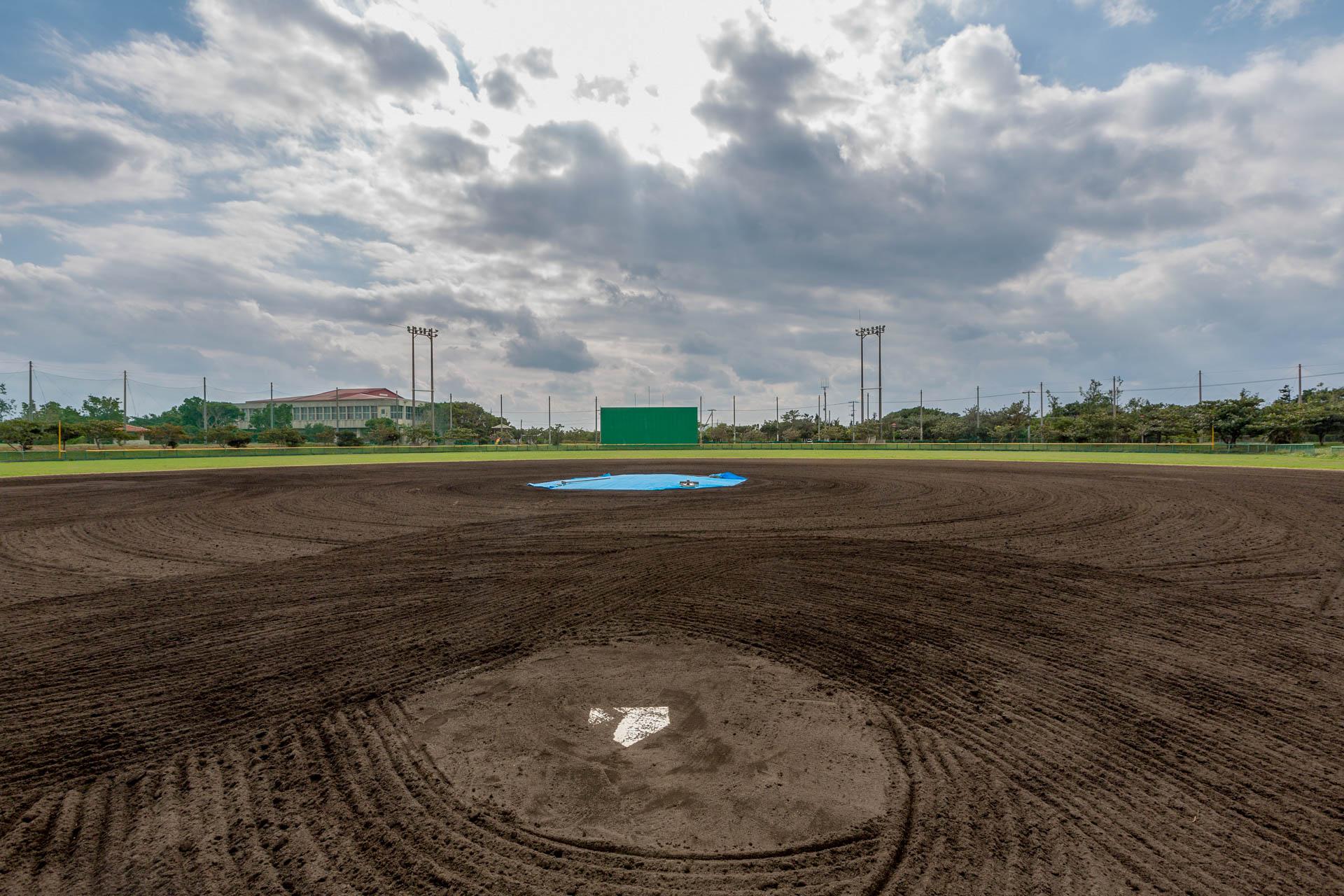 下地地区公園野球場