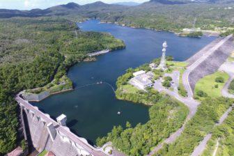 漢那ダム湖及び湖畔公園