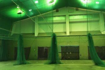 仲里野球場・屋内練習場