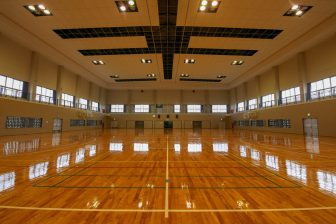 Nakagusuku Town Gymnasium ( inside of Yoshinoura Park )
