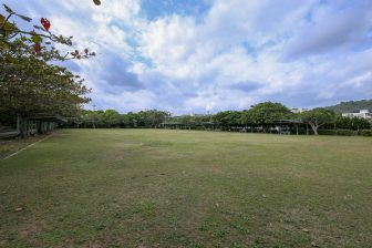 Gateball field in Yoshinoura Park