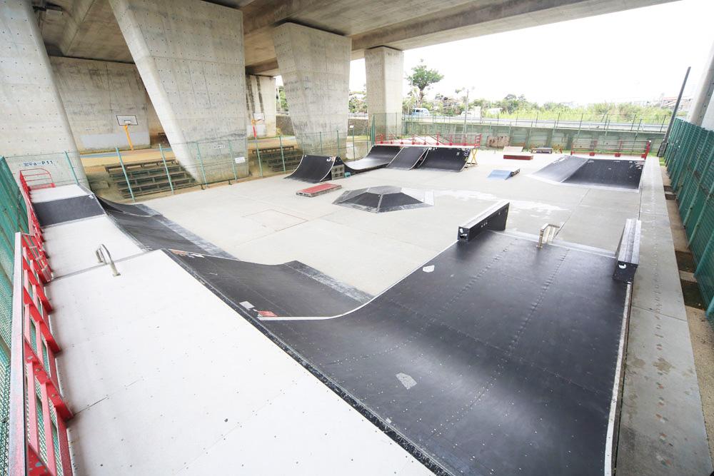 花・水・緑の大回廊公園 スケートボード場