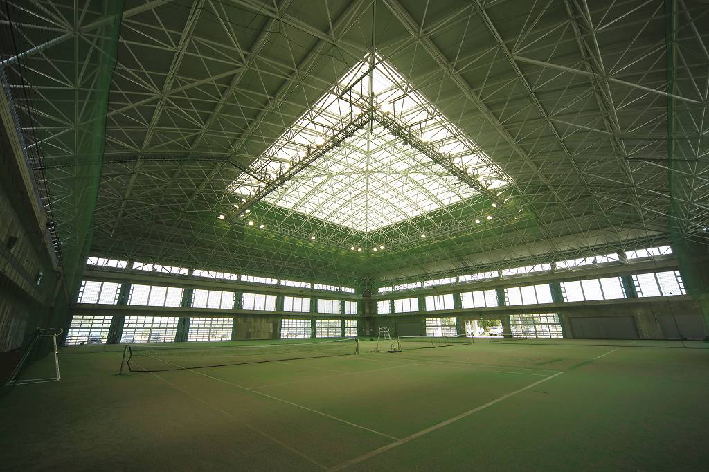 石垣市中央運動公園屋内練習場