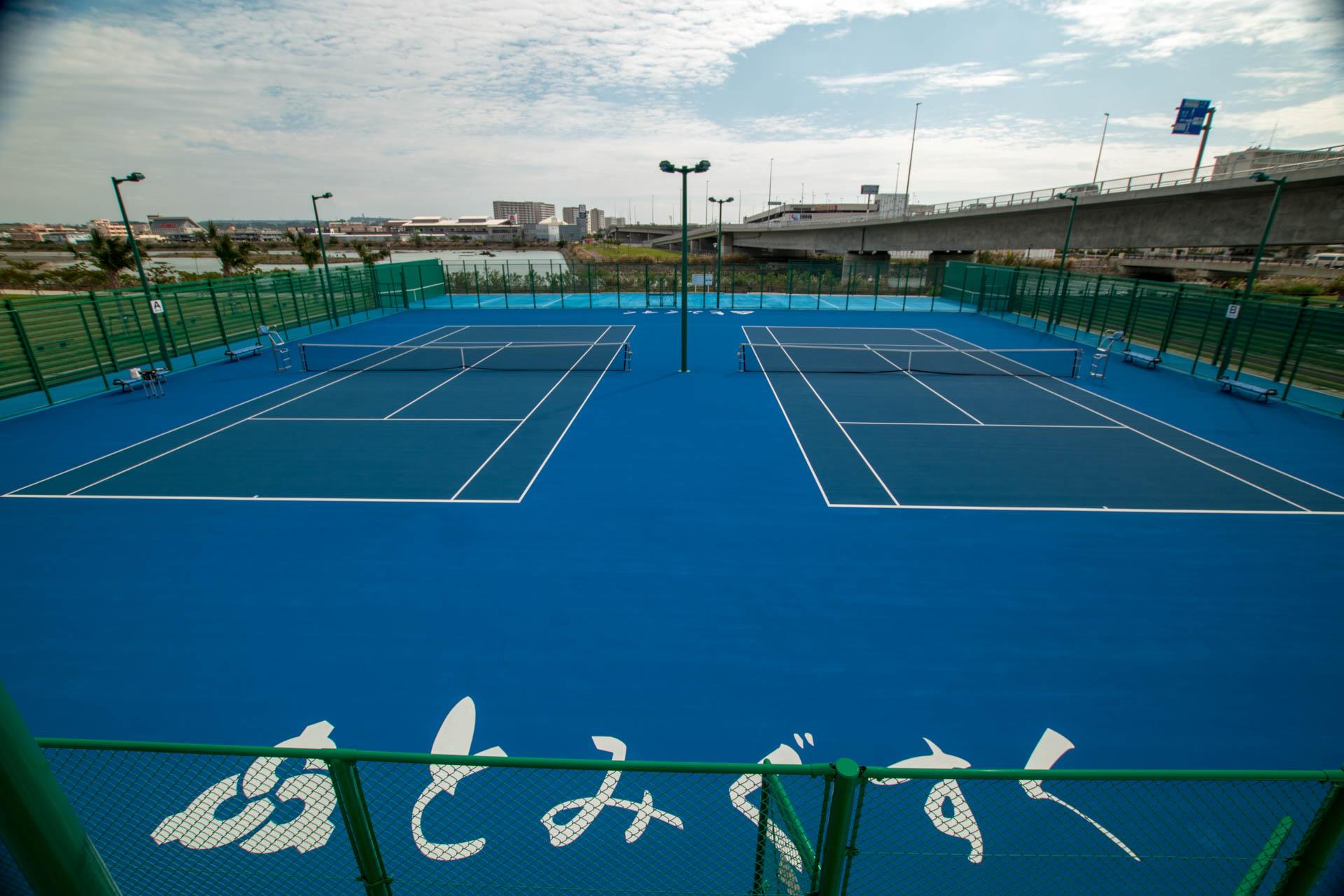 豊崎海浜公園テニスコート