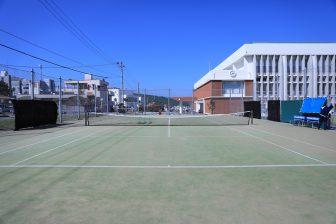与那原町観光交流施設テニスコート